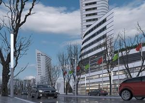 Riverside complex